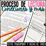 Spanish Close Reading Passage Organizers and PPT | Proceso