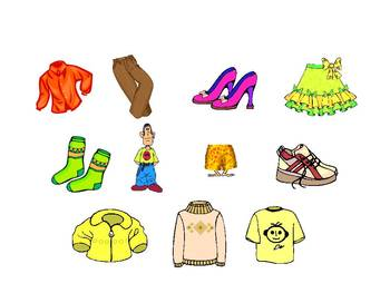 Spanish Teaching Resources. Clothes PowerPoint Presentation