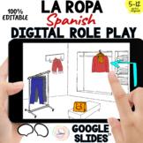 Spanish Clothes Shopping Digital Vocabulary: LA ROPA