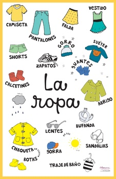 Spanish Clothing Bundle