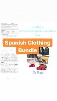 Spanish Clothing Bundle - La Ropa