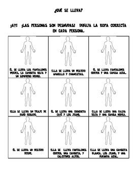 Spanish Clothing- Dress the Body