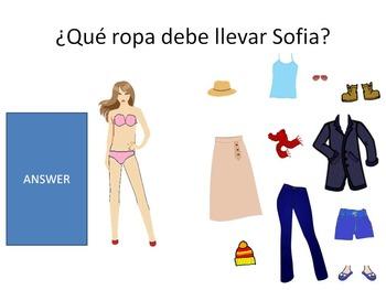 Spanish Clothing Dress up Dolls