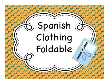 Spanish Clothing / Dressing Room Fold-It