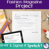 Spanish Clothing Fashion Magazine Project