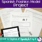 Spanish Clothing Fashion Model Project