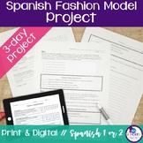 Spanish Clothing Fashion Model Project