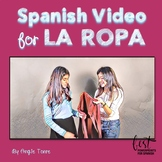 Spanish Clothing La ropa Video Distance Learning