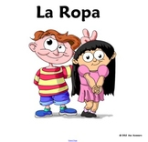 Spanish Clothing Paper Dolls and Activities - Smartboard Interactive Whiteboard