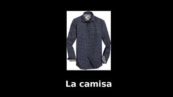 Spanish Clothing Presentation