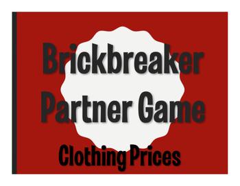 Spanish Clothing Prices Brickbreaker Game