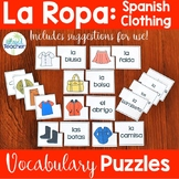Spanish Clothing Puzzles: La Ropa
