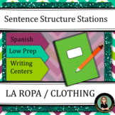 Spanish Clothing / Ropa Descriptions: Sentence Structure C