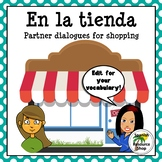 Spanish Clothing Shopping Partner Practice Dialogues