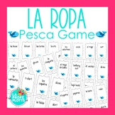 Spanish Clothing Vocabulary Pesca (Go Fish) Game | La Ropa Review Game