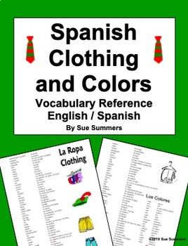 Clothes in Spanish language game - Digital Dialects online ...