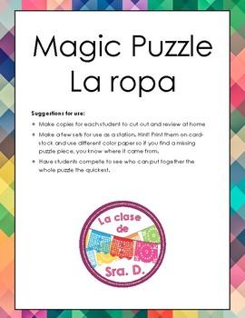 La Ropa - Magic Puzzle