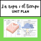 Spanish Clothing and Weather Unit Plan