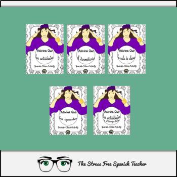 Spanish Cloze Printables BUNDLE, Differentiated, Vocabulary