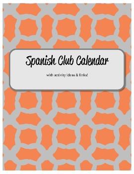 Spanish Club Calendar