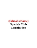 Spanish Club Constitution
