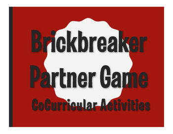 Spanish CoCurricular Activities Brickbreaker Game