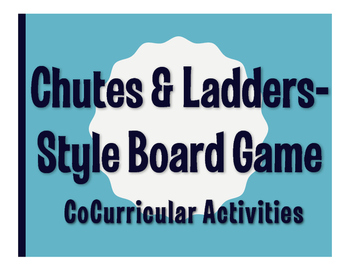 Spanish CoCurricular Activities Chutes and Ladders-Style Game
