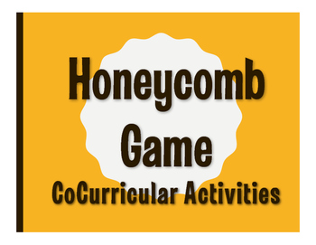 Spanish CoCurricular Activities Honeycomb