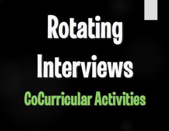 Spanish CoCurricular Activities Rotating Interviews