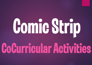 Spanish CoCurricular Activities Comic Strip