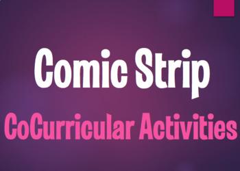 Spanish CoCurricular Activities Comic Strip