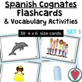 Spanish Cognate Flash Cards