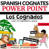 Spanish Cognates - PowerPoint with pictures - Elementary S