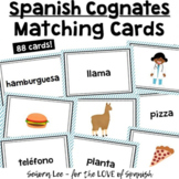 Spanish Cognate Vocabulary Matching Cards - Set 2