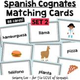 Spanish Cognates - Spanish Vocabulary Matching Cards - Set 2