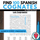Spanish Cognates - WORD SEARCH #lomejorde2017