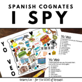 Spanish Cognates Activity - Beginning Spanish - Spanish I Spy