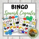 Spanish Cognates Bingo Distance Learning