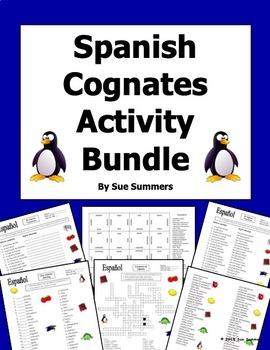 Spanish Cognates Bundle