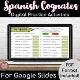 Spanish Cognates Digital Practice Activities
