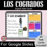 Spanish Cognates Digital Task Cards
