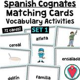 Spanish Cognate Cards Definite Indefinite Article Activities