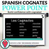 Spanish Cognates PowerPoint - Beginning Spanish Vocabulary