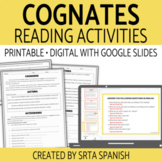 Spanish Cognates Reading Activities