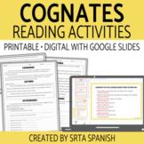 Spanish Cognates Reading Activities with Digital Version