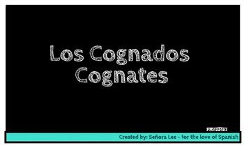 Spanish Cognates SMART BOARD