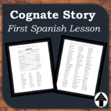 Spanish Cognates Story for Beginners First Spanish Lesson Day 1