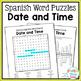 Spanish Cognates Word Search Bundle