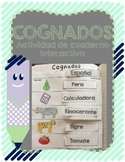 Spanish Cognates activity for Interactive Journal. Dual .