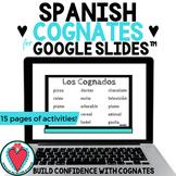 Spanish Cognates - Spanish Lesson for Google Slides™